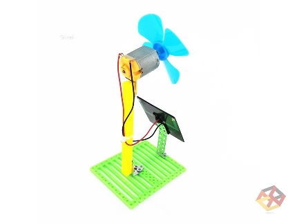 WIND MILL KIT WITH SOLAR P